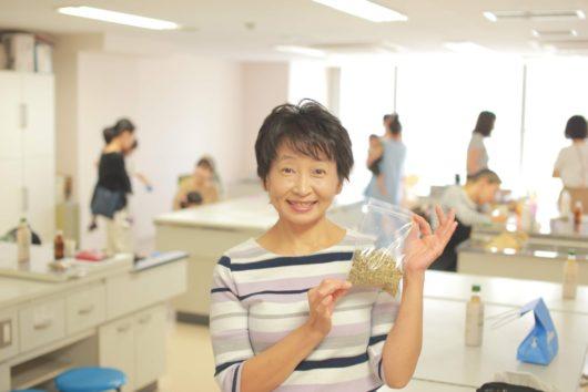 浅井貴子 助産師 ハーブでつくる風邪シロップ