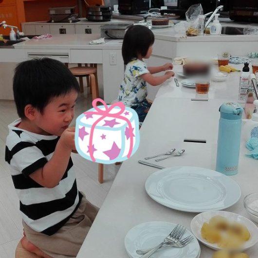 親子料理教室 食育 0歳 子連れ料理教室