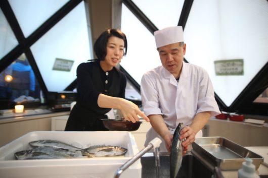 みらいママ講座 魚のさばき方 桜井昭好 生田佳絵 ギャラクシティ とんがりキッチン 鯵 アジ