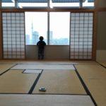 みらいママ 幼稚園座談会 和室 東京芸術センター