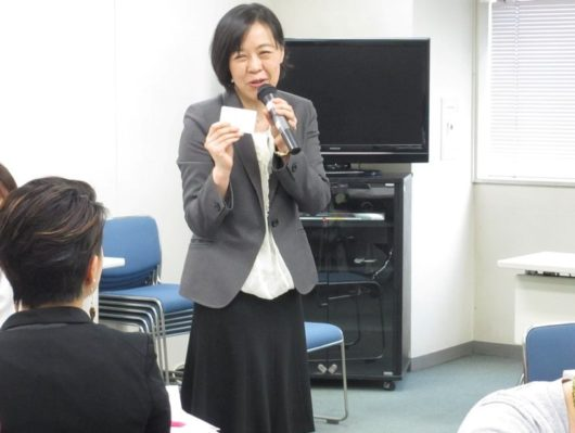 キャリアトランプ みらいママ講座 近藤眞寿美先生 風景
